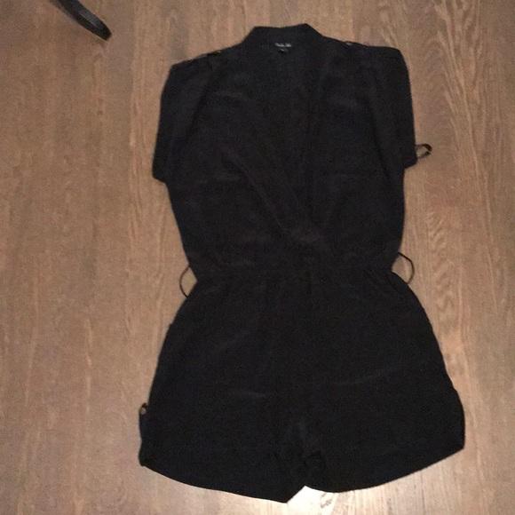 356cfdff23c charlie jade Pants - Charlie Jade Black Silk romper